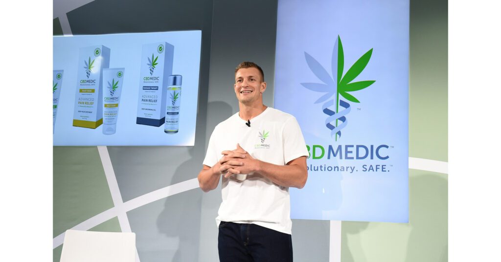 "Rob Gronkowski, Camille Kostek and Matt Iseman Team Up With CBDMEDIC™ to Launch ""Survive & Thrive: COVID-19 LIVE Celebrity Challenge"" To Generate Support for the Arthritis Foundation"