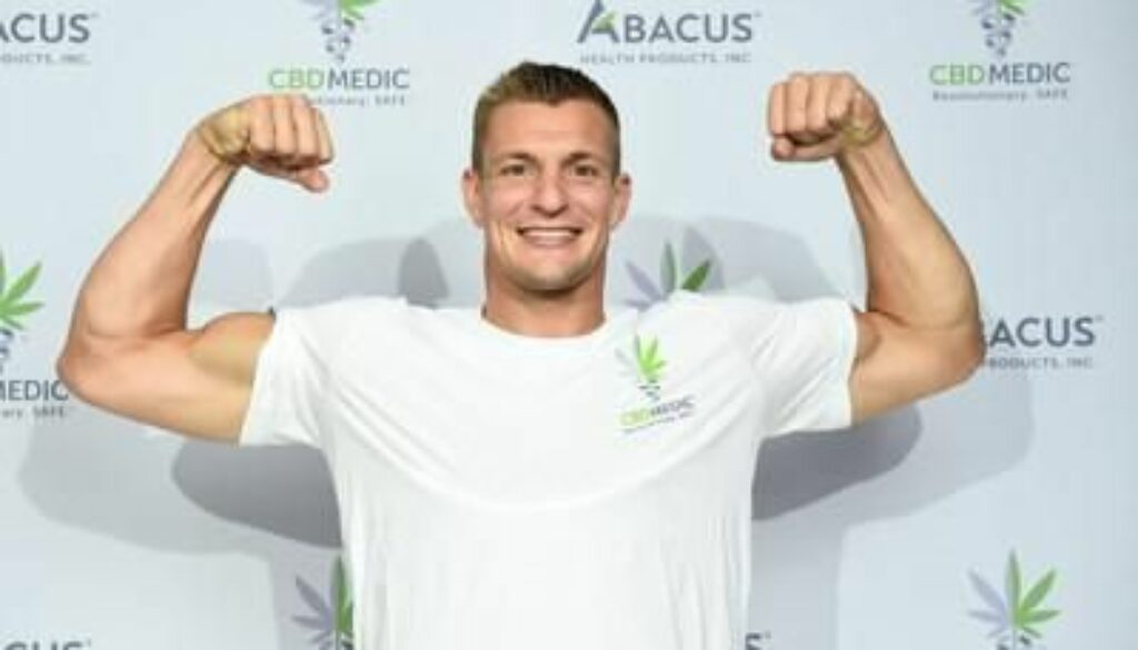 Rob Gronkowski is Back in the Game with CBDMEDIC™
