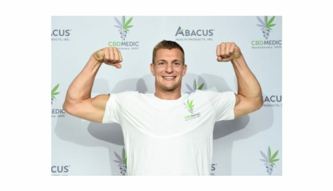 "Rob Gronkowski Is ""Back in The Game"" with CBDMEDIC™"
