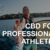 CBD for Professional Athletes