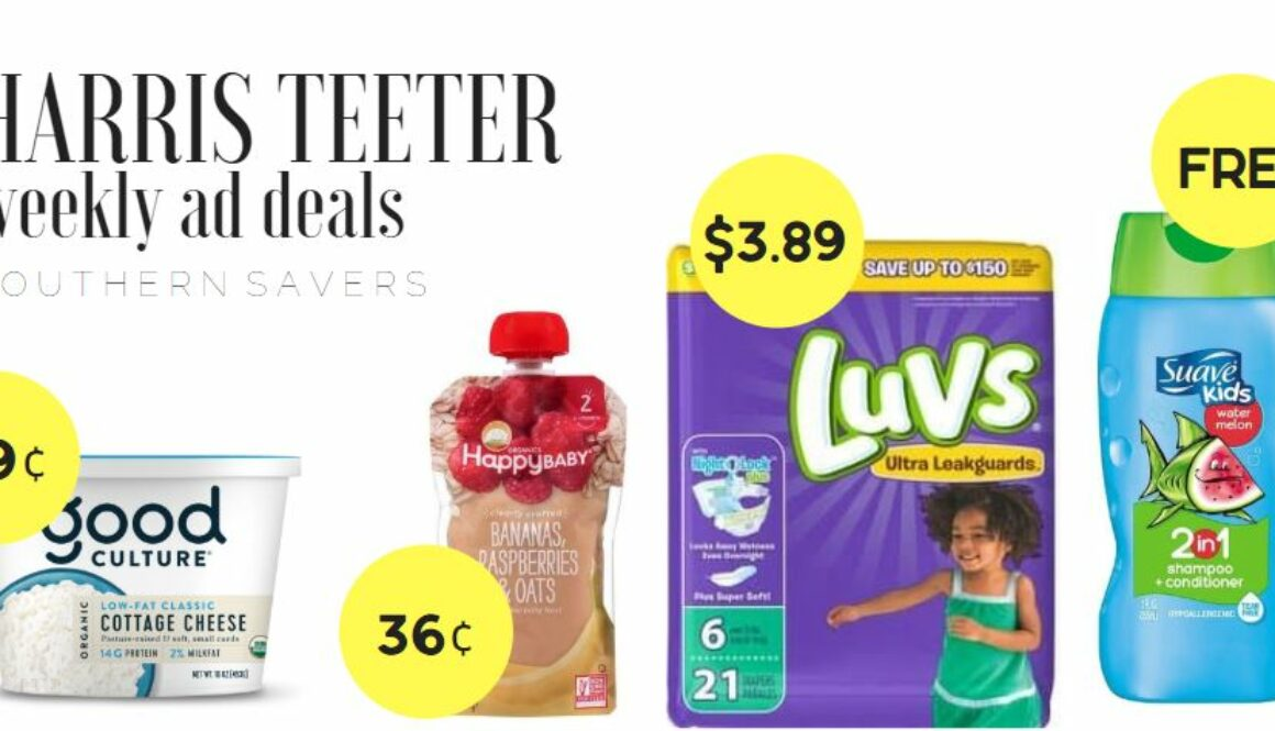 Harris Teeter Weekly Ad: 8/5-8/11